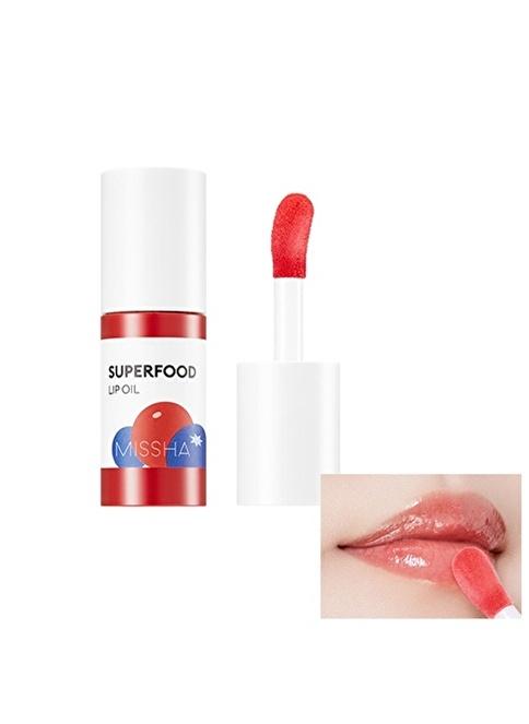 Missha Super Food Lip Oil Berry Renksiz